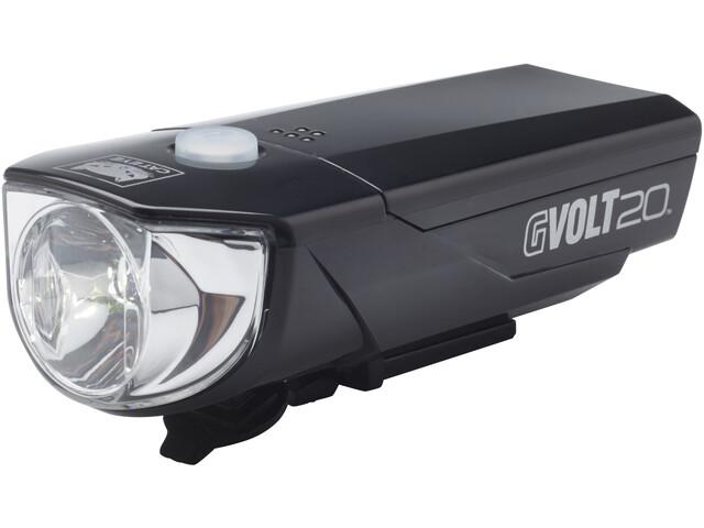 CatEye GVOLT20RC HL-EL350GRC Reflektor przedni zgodne z prawem o ruchu drogowym (StVZO), black